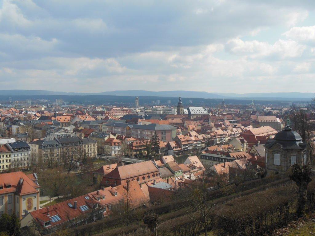 Blick über Bamberg vom Mich(a)elsberg