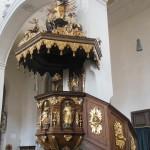 """Kanzel in der Kirche """"Zu Unserer Lieben Frau"""" bzw. """"Oberer Pfarre"""" in Bamberg"""