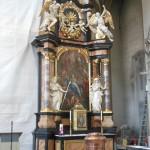 "Altar in der Kirche ""Zu Unserer Lieben Frau"" bzw. ""Oberer Pfarre"" in Bamberg"