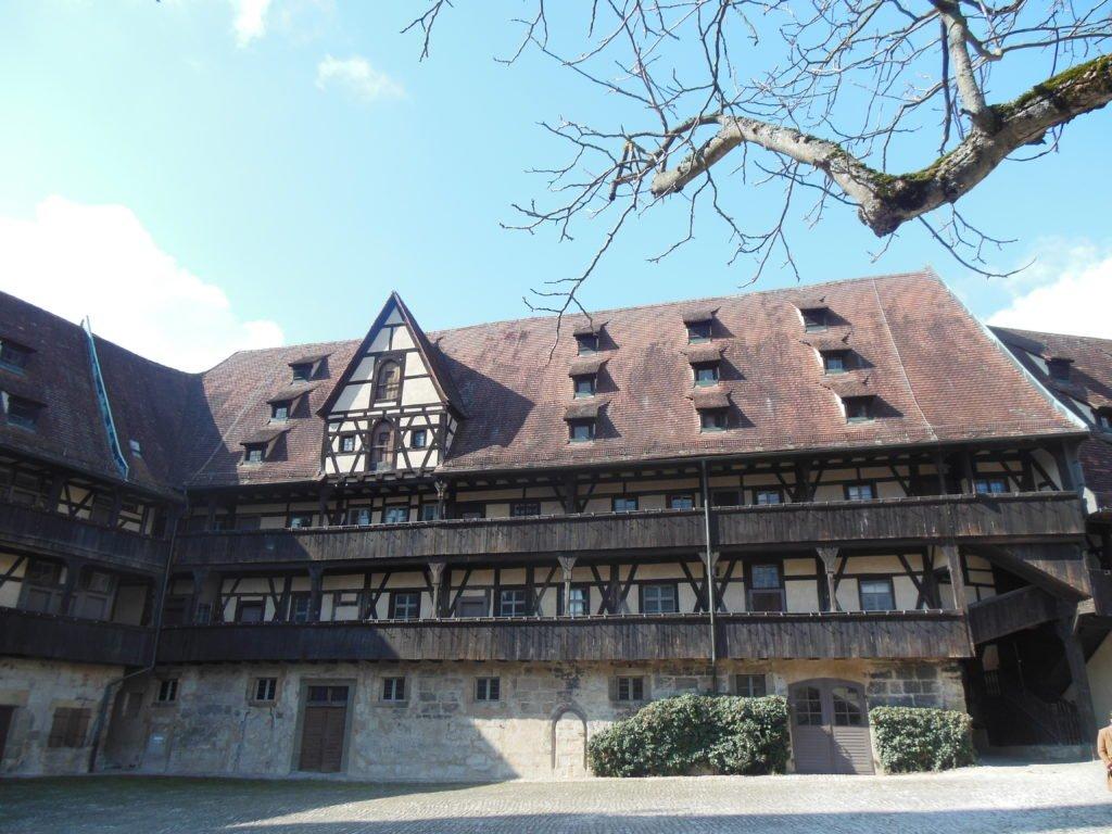 Bild vom Innenhof der Alten Hofhaltung Bamberg