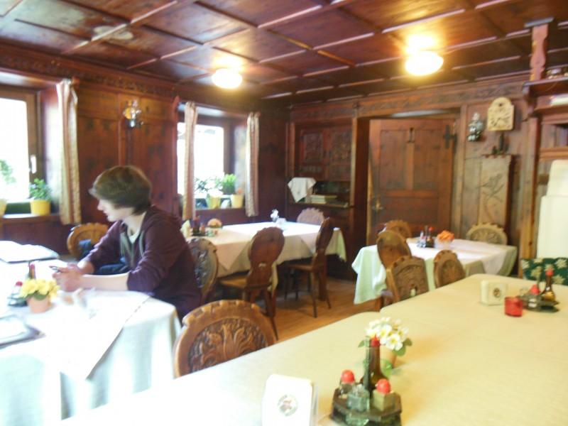 Bild von der Gaststube des Gasthofs Alt Bärnbad