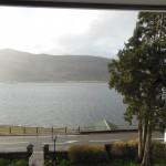 Ausblick aus dem Zimmerfenster