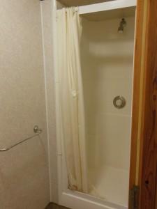 Bild von der Dusche in der Jugendherberge Oban