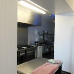 Einblick in die Gästeküche des Youth Hostel Oban