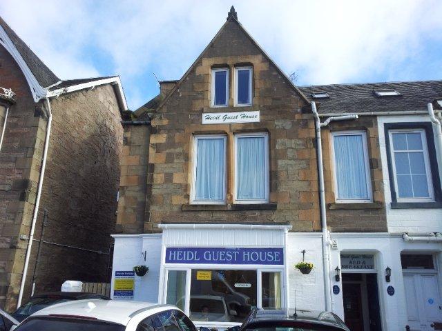 Bild von außen vom Heidl Guest House in Perth (Schottland)