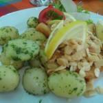 Zander mit Kartoffeln