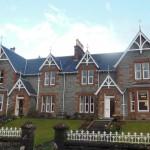 Bild von außen vom Myrtle Bank Guest House in Fort William / Schottland