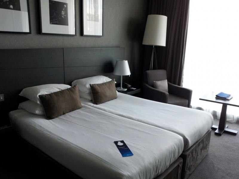 Betten im Radisson Blu Glasgow