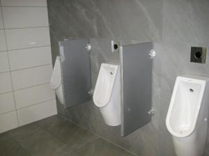 Toiletten in der DB Bahn Lounge Köln