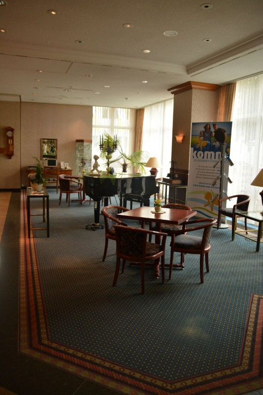 Lobby des Hotels Ratswaage Magdeburg
