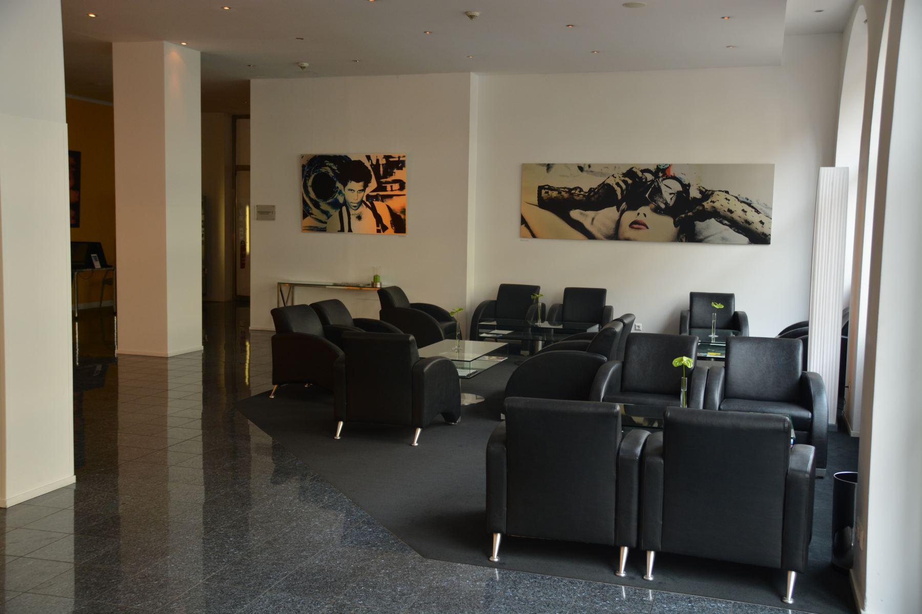 Bild von der Lobby des Hotel Winters Berlin Mitte - Am Checkpoint Charlie