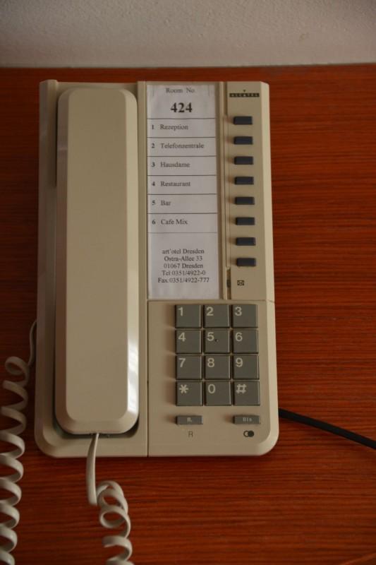 Telefon im art'otel Dresden