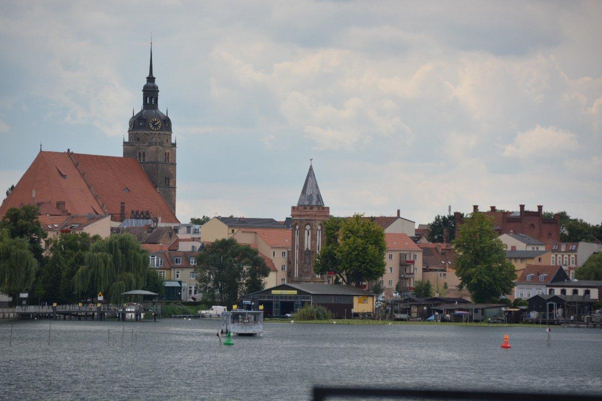Der Hafen von Brandenburg an der Havel