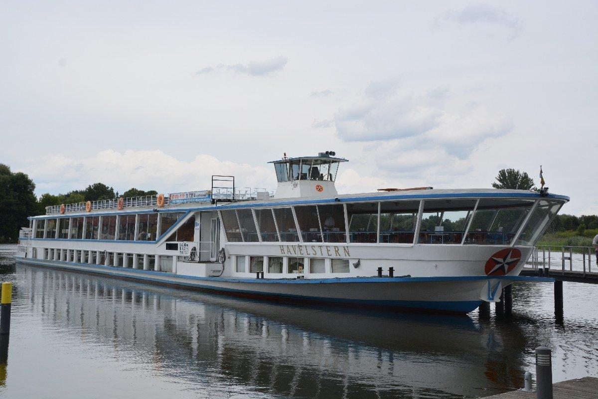 Die MS Havelstern im Hafen von Brandenburg an der Havel