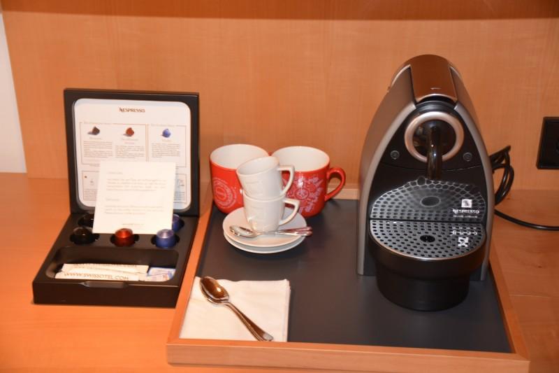 Nespresso im Swissotel Berlin