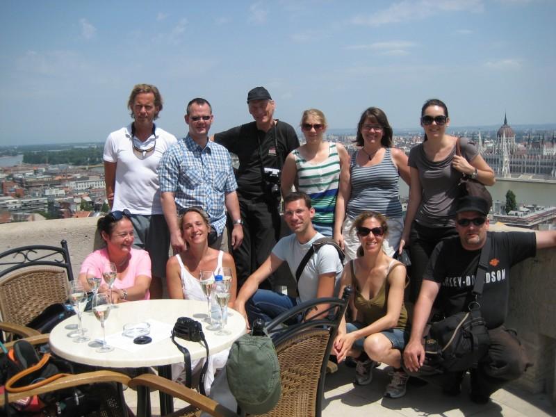 Reisebloggertruppe in Ungarn