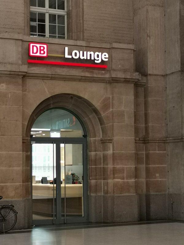 Bahnlounge Leipzig - der neue Eingang seit 2019 nahe Gleis 23