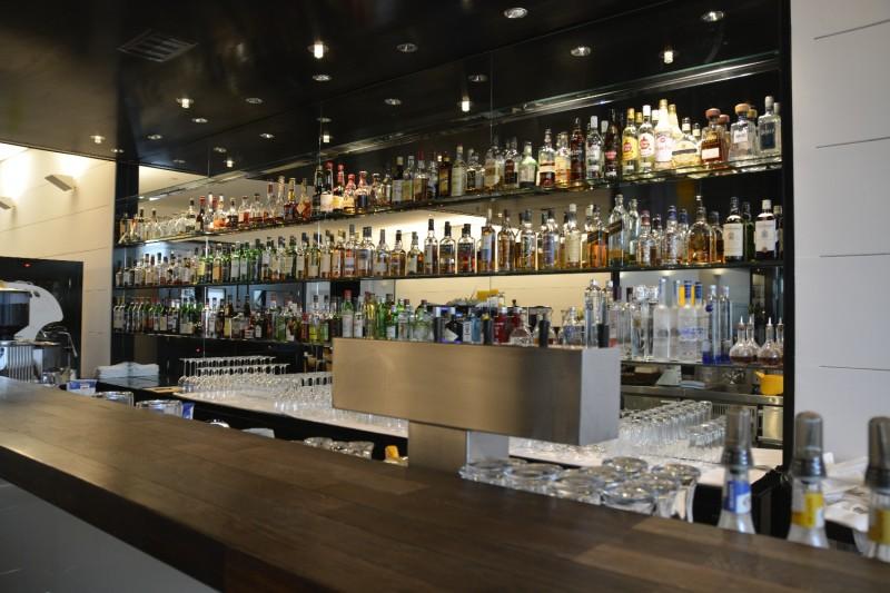 Die Bar im Hotel INNSIDE Düsseldorf Seestern