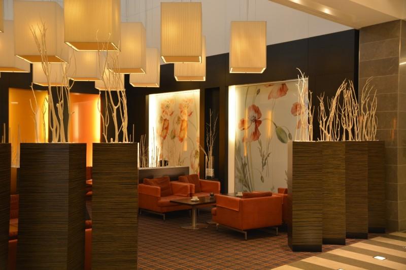 Bild vom Loungebereich des Novotel Tiergarten Berlin