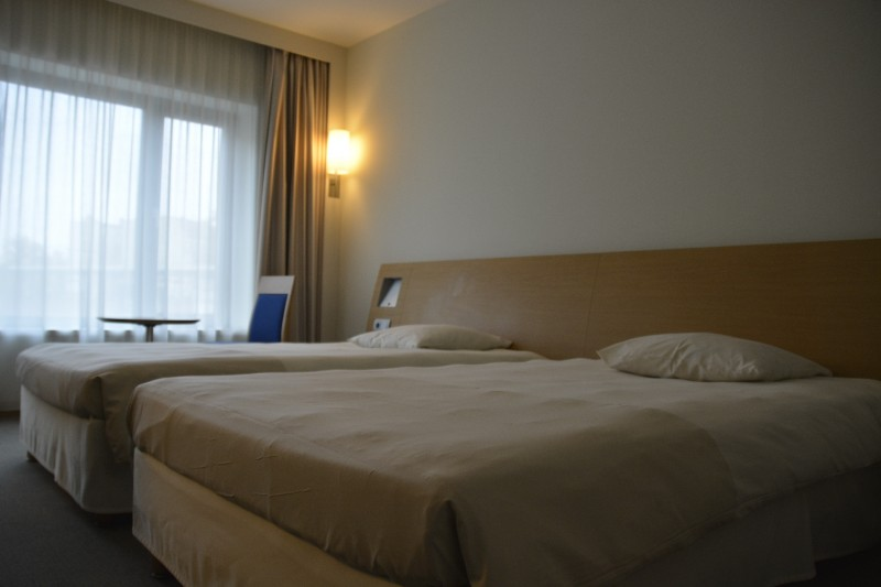 Bild von den Betten im Novotel Tiergarten Berlin