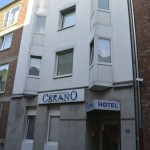 Außenansicht des Hotel Cerano Köln