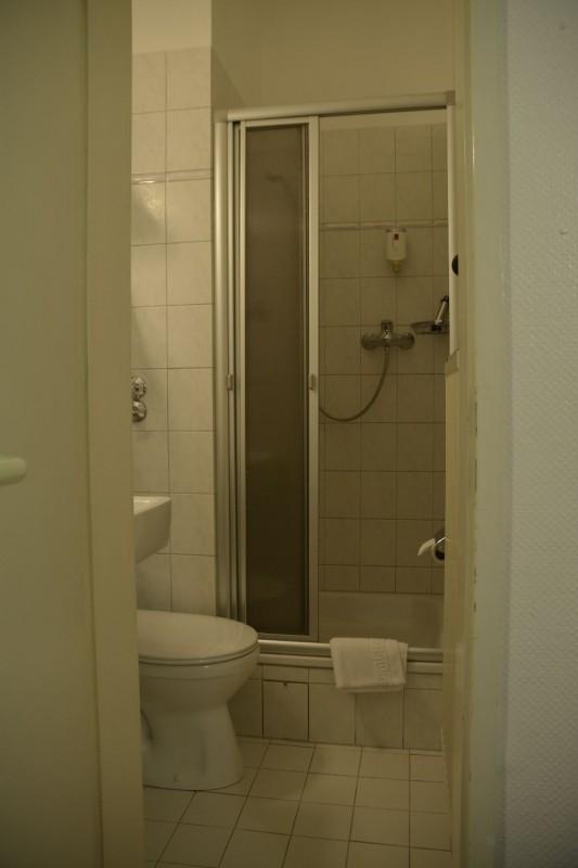 Bad im Hotel Cerano...