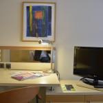 Bild vom Schreibtisch vom Hotel Köln Lindner Dom Residence