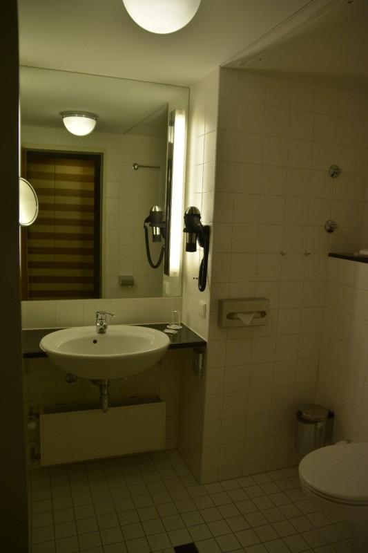 Blick ins Bad im Hotel Lindner Dom Residence Köln
