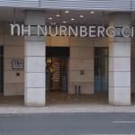 Eingang des NH Hotel Nürnberg City