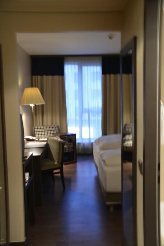Blick in mein Zimmer des NH Hotel Nürnberg City