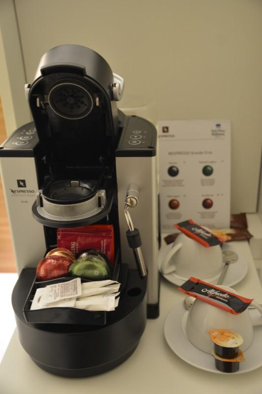 Nespressomaschine im Hotel Park Plaza Wallstreet Berlin
