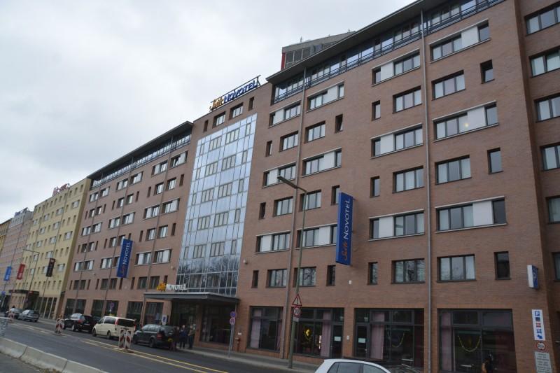 Das Suite Novotel Berlin City Potsdamer Platz von außen
