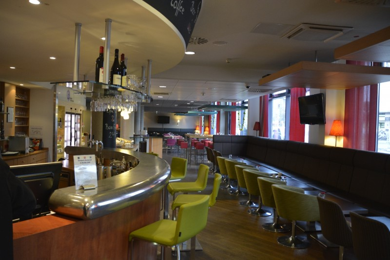 Bar und Restaurant des Suite Novotel Berlin City Potsdamer Platz