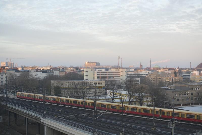 Ausblick aus Zimmer 718 des InterCityHotel Berlin Hauptbahnhof