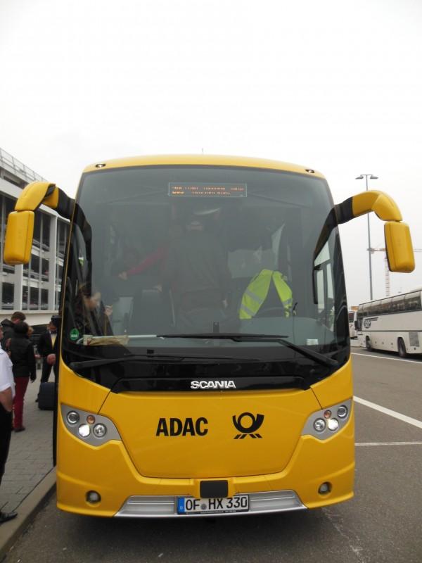 Das isser, der ADAC Postbus