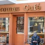 Aromas Cafe von außen