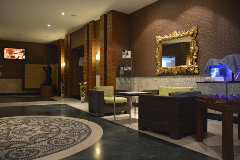 Eingangsbereich des Carpe Diem Spa im Hotel Concorde de Luxe in Lara