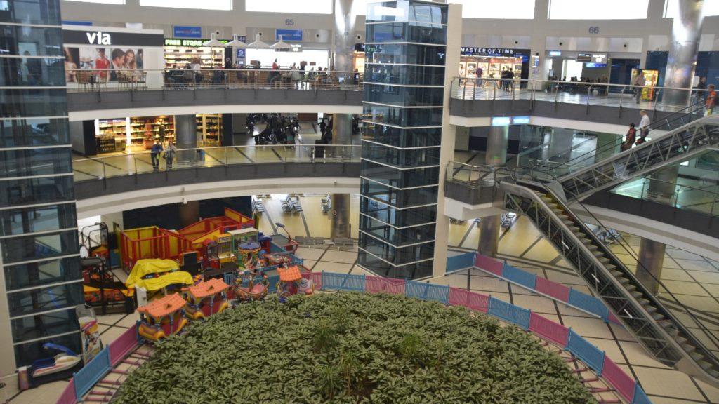 Flughafen Antalya im inneren Bereich