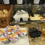 Bild vom Frühstücksbuffet im Hotel Citadine München
