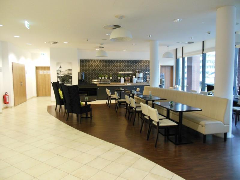 Bild vom Frühstücksraum (am nachmittag) im Hotel Citadine München