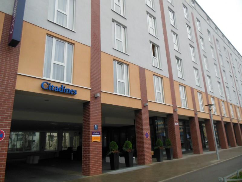Außenansicht des Hotels Citadine München