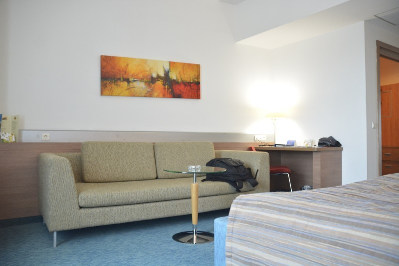Blick auf das Sofa im Hotel Concorde de Luxe Lara / Türkei