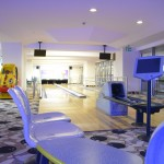Die Bowlingbahn im Hote Concorde de Luxe Lara