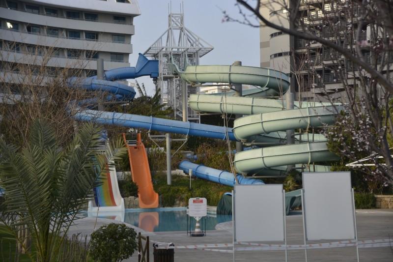 Wasserrutschen im Hotel Concorde de Luxe Lara