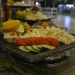 Teil des Buffet im Hotel Concorde de Luxe in Lara - Salat