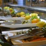 Teil des Buffet im Hotel Concorde de Luxe in Lara - Peperoni