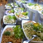 Teil des Buffets im Hotel Concorde de Luxe in Lara - Salate