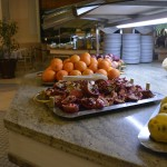 Teil des Buffets im Hotel Concorde de Luxe in Lara - Obst