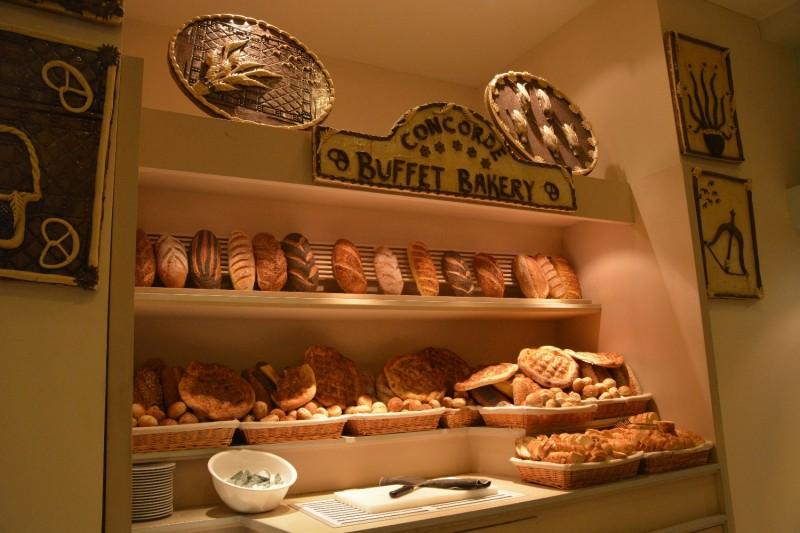 Teil des Buffets im Hotel Concorde de Luxe in Lara - Bot