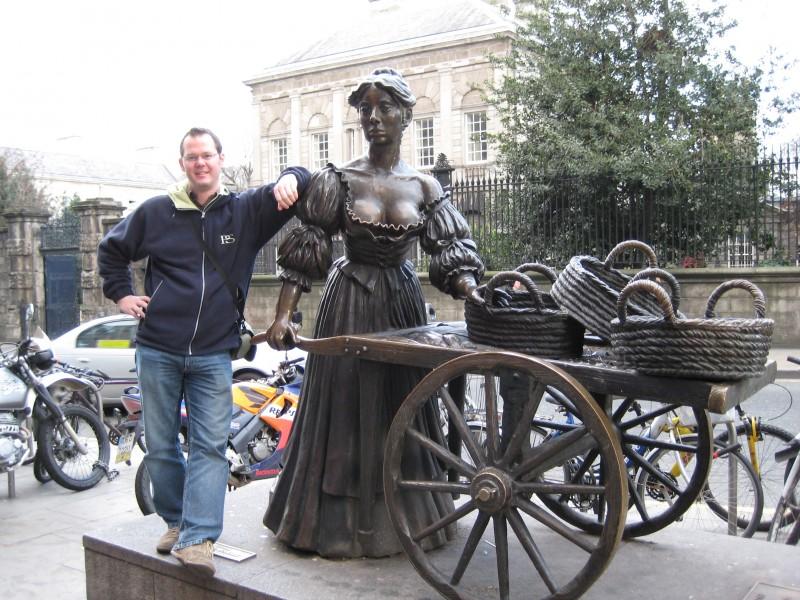 Ich und Molly ;) (2008 in Dublin)